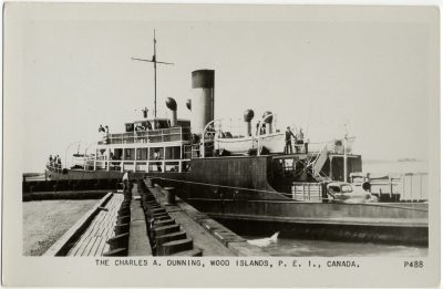 , The Charles A. Dunning, Wood Islands, P.E.I., Canada. (2876), PEI Postcards