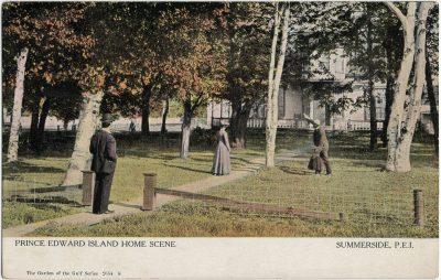 , Prince Edward Island Home Scene Summerside, P.E.I. (2868), PEI Postcards