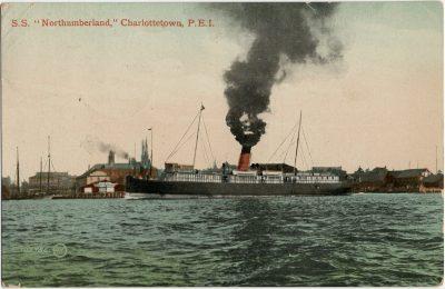 ", S.S. ""Northumberland,"" Charlottetown, P.E.I. (2859), PEI Postcards"