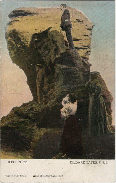 , Pulpit Rock Kildare Capes, P.E.I. (2853), PEI Postcards