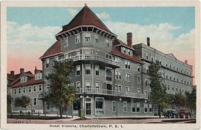 , Hotel Victoria, Charlottetown, P.E.I. (2848), PEI Postcards