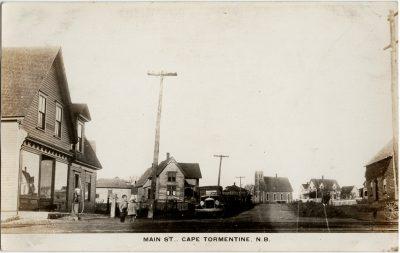 , Main St., Cape Tormentine, N.B. (2887), PEI Postcards