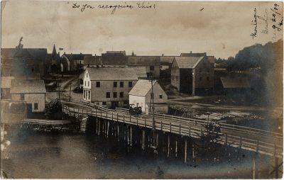 , RPPC of Montague Bridge (2904), PEI Postcards