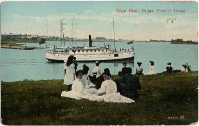 , West River, Prince Edward Island (2908), PEI Postcards