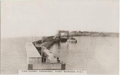 , Car Ferry Terminal, Port Borden, P.E.I. (2915), PEI Postcards