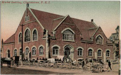 , Market Building, Charlottetown, P.E.I. (2932), PEI Postcards