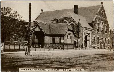 , Market Building, Charlottetown, P.E.I. (2933), PEI Postcards