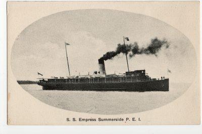 , S.S. Empress, Summerside, P.E.I. (2934), PEI Postcards
