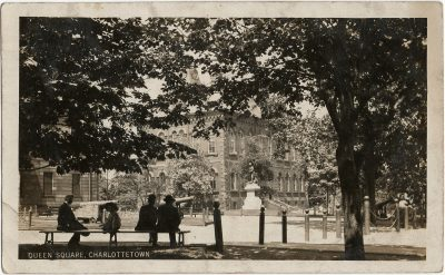 , Queen Square, Charlottetown (2971), PEI Postcards