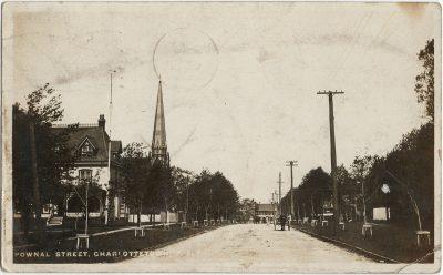 , Pownal Street, Charlottetown, P.E.I. (2981), PEI Postcards