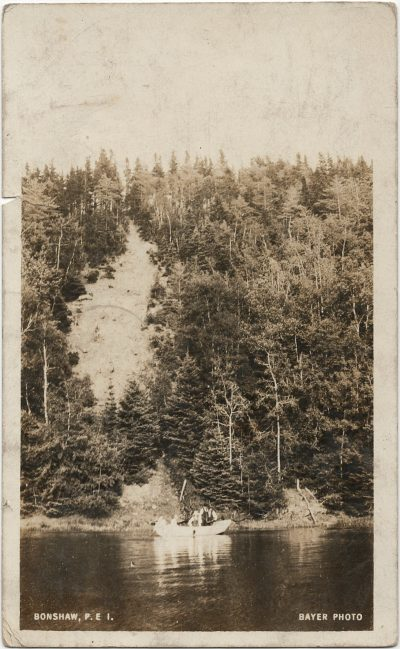 , Bonshaw PEI Bayer Photo (2970), PEI Postcards