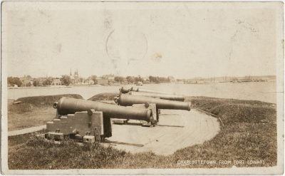 , Charlottetown, from Fort Edward (2963), PEI Postcards