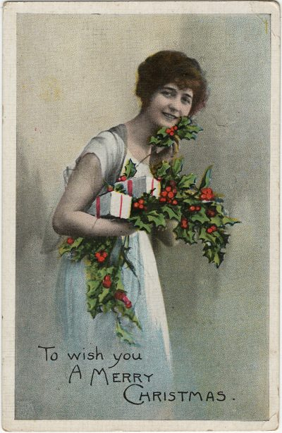 , To wish you a Merry Christmas greetings card. (2958), PEI Postcards