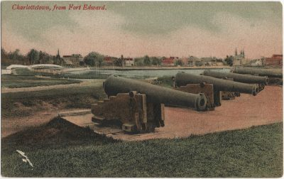 , Charlottetown, from Fort Edward. (2988), PEI Postcards
