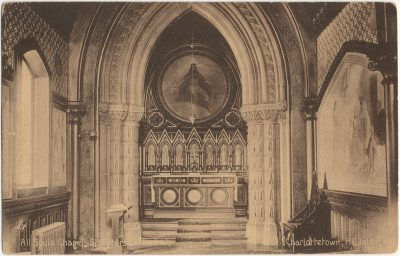 , All Souls Chapel, St. Peter's Cathedral, Charlottetown, P.E. Island (2987), PEI Postcards