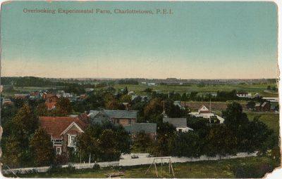 , Overlooking Experimental Farm, Charlottetown, P.E.I. (3030), PEI Postcards