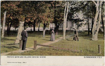 , Prince Edward Island House Scene Summerside, P.E.I. (3028), PEI Postcards