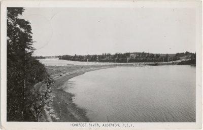 , Montrose River, Alberton, P.E.I. (3022), PEI Postcards