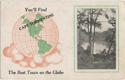 , You'll find Cape Tormentine the Best Town on the Globe. (3023), PEI Postcards