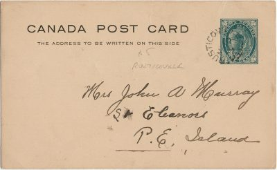, Canada Post Card (3020), PEI Postcards