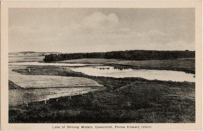 , Lake of Shining Waters, Cavendish, Prince Edward Island. (3018), PEI Postcards