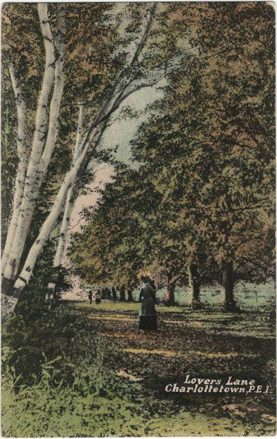 , Lover's Lane, Charlottetown, P.E.I. (3019), PEI Postcards