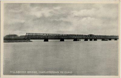 , Hillsboro Bridge, Charlottetown, P.E. Island (3014), PEI Postcards