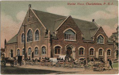 , Market House, Charlottetown, P.E.I. (3012), PEI Postcards