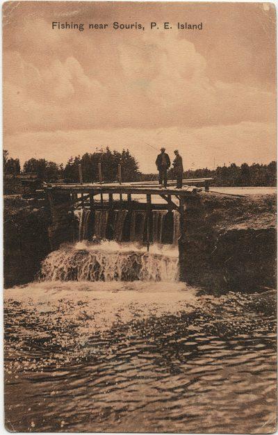 , Fishing near Souris, P.E. Island (3004), PEI Postcards