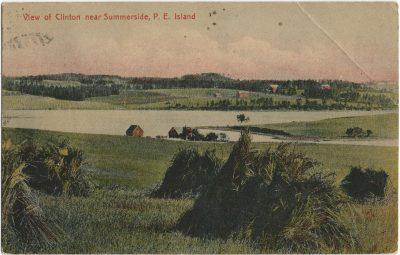 , View of Clinton near Summerside, P.E. Island (2999), PEI Postcards