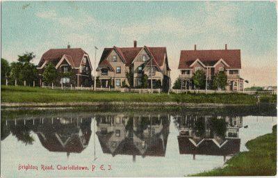 , Brighton Road, Charlottetown, P.E.I. (3096), PEI Postcards