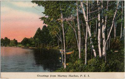, Greetings from Murray Harbor, P.E.I. (3041), PEI Postcards