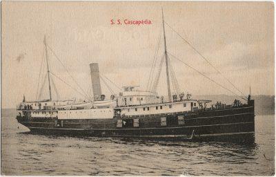 , S.S. Cascapedia. (3043), PEI Postcards