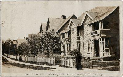 , Brighton Road, Charlottetown, P.E.I. (3092), PEI Postcards