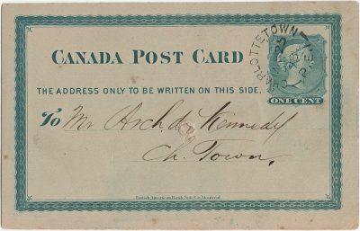 , Canada Post Card (3090), PEI Postcards