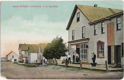, Main Street, Victoria, P.E. Island (3072), PEI Postcards
