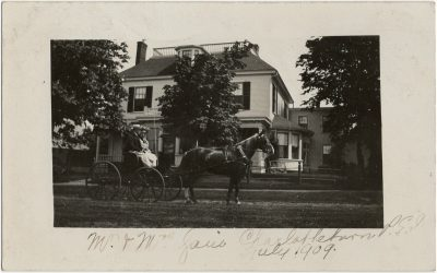, Mr and Mrs. Jane, Charlottetown P.E.I. July 1909. (3061), PEI Postcards