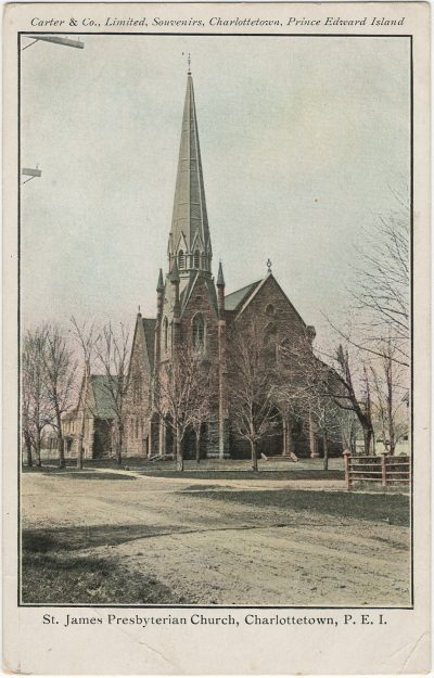 , St. James Presbyterian Church, Charlottetown, P.E.I. (3062), PEI Postcards