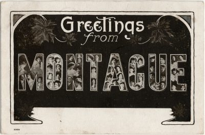 , Greetings from Montague (3064), PEI Postcards