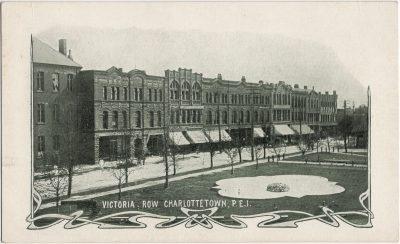 , Victoria Row Charlottetown PEI (3063), PEI Postcards