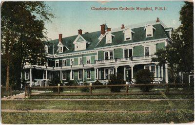, Charlottetown Catholic Hospital, P.E.I. (3060), PEI Postcards