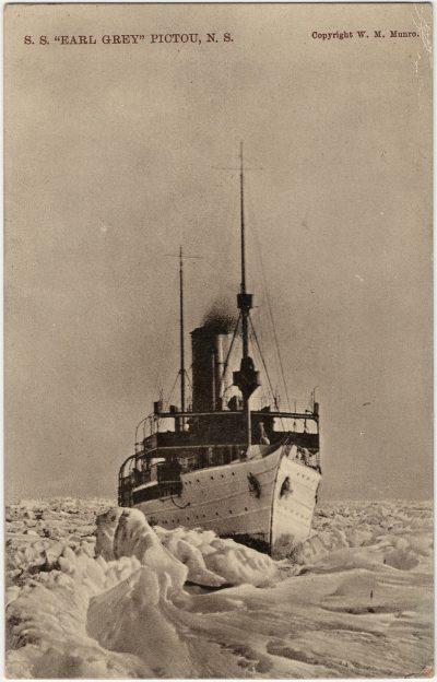 ", S.S. ""Earl Grey"" Pictou, N.S. (3054), PEI Postcards"