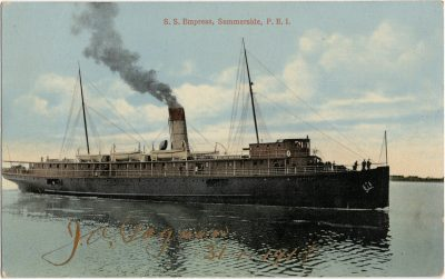 , S.S. Empress, Summerside, P.E.I. (3051), PEI Postcards