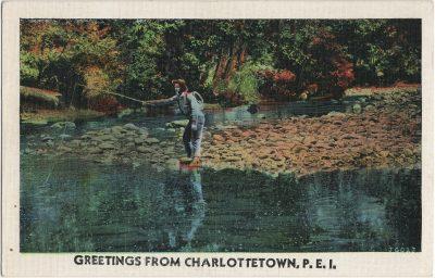 , Greetings from Charlottetown, P.E.I. (3050), PEI Postcards