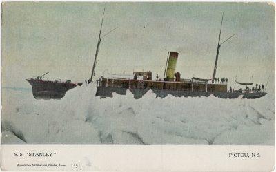 ", S.S. ""Stanley"" Pictou NS (3101), PEI Postcards"