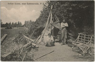 , Indian Scene, near Summerside, P.E.I. (3099), PEI Postcards