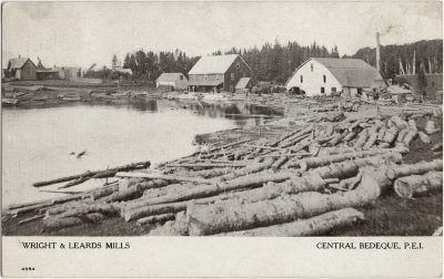 , Wrights & Leards Mills Central Bedeque, P.E.I. (3100), PEI Postcards