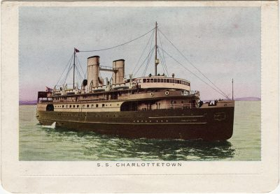 , S.S. Charlottetown (3098), PEI Postcards