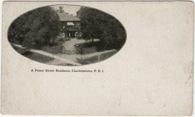 , A Prince Street Residence, Charlottetown, P.E.I. (3097), PEI Postcards