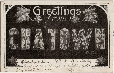 , Greetings from Cha'town PEI (3146), PEI Postcards